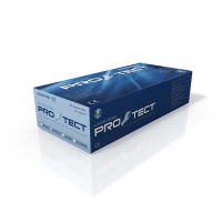 PRO-TECT PT03 LATEX POWDERFREE DISPOSABLE GLOVES BLUE LARGE (BOX OF 50)
