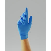 UNICARE UCNI1203 NITRILE POWDERFREE DISPOSABLE GLOVE MEDIUM INDIGO (BOX OF 200)