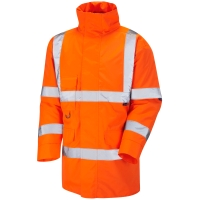 LEO AO1-O HIGH VISIBILITY ANORAK ORANGE LARGE