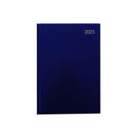 LYRECO A4 DESK DIARY BLUE - PAGE A DAY