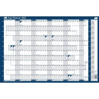 SASCO MOUNTED ORIGINAL YEAR PLANNER - 915 X 610MM