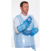 DISPOSABLE OVERSLEEVES BLUE (PACK OF 100)