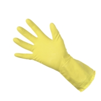 RUBBER GLOVE CLEAN GRIP 300793 YELLOW LARGE (PAIR)