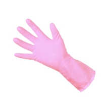 RUBBER GLOVE CLEAN GRIP 300792  PINK MEDIUM (PAIR)
