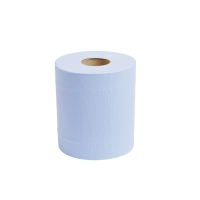 LYRECO BLUE 2 PLY CENTREFEED ROLL 190MM X 150M - PACK OF 6