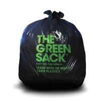 BLACK 18 X 29 X 33 60 LITRE MEDIUM DUTY WASTE SACK - PACK OF 200