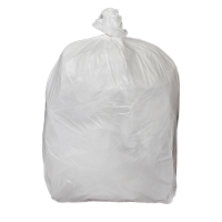 WHITE 11 X 17 X 17 INCH HEAVY DUTY PEDAL BIN LINER - PACK OF 5 ROLLS OF 100