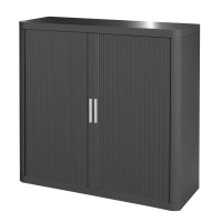 PAPERFLOW CHARCOAL CUPBOARD 1 METRE