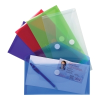 EXACOMPTA ENVELOP WALLET PP ASSORTED PACK OF 5