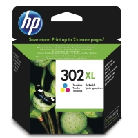 HP 302XL High Yield Tri-color Original Ink Cartridge (F6U67AE)