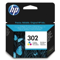 HP 302 Tri-color Original Ink Cartridge (F6U65AE)