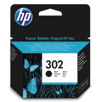 HP 302 Black Original Ink Cartridge (F6U66AE)