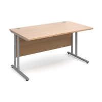 MODULAR C FRAME STRAIGHT DESK BEECH 1200MM