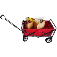 FOLDABLE RED TROLLEY