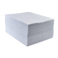 ECOSPILL H0415040 PREMIER OIL ONLY PVC BACKED PADS 500MMX400MM (PACK OF 100)