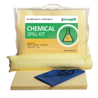 ECOSPILL C1290015 PREMIER CHEMICAL CLIP TOP SPILL KIT 15L