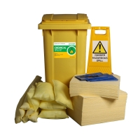 ECOSPILL C1220240  PREMIER CHEMICAL WHEELED BIN SPILL KIT 240L