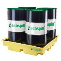 ECOSPILL P3201312 4 DRUM 410 LITRE SPILL PALLET 1280X1280X280MM