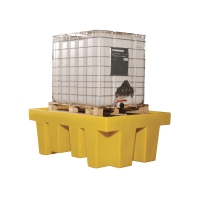 ECOSPILL P3201813 SINGLE IBC SPILL PALLET 1760X1350X2410MM