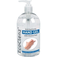 ECOCLENZ ANTI-BACTERIAL HAND GEL 500ML