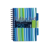 PUKKA PADS PROBA5 PROJECT BOOK A5 RULED BLUE