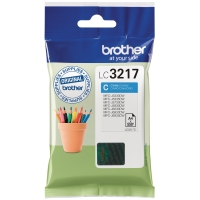 BROTHER LC3217C INK CARTRIDGE CYAN