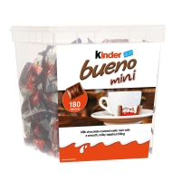KINDER BUENO MINIS - TUB OF 180