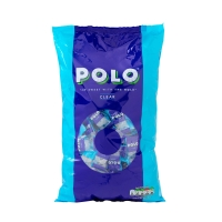 POLO Individually wrapped clear mint sweets - 660g