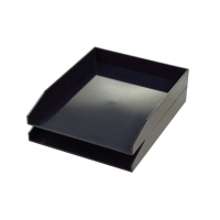 AVERY CS104 LETTER TRAY BLACK
