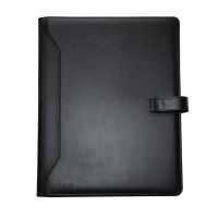 MONOLITH 2900 CONF FOLDER LEATHER A4 BLK
