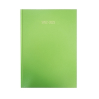 LYRECO LIME GREEN A5 ACADEMIC DIARY - WEEK TO VIEW