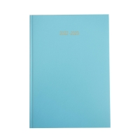 LYRECO SKY BLUE A5 ACADEMIC DIARY - WEEK TO VIEW