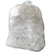 GR0105 CLEAR 90 LITRE MEDIUM DUTY REFUSE SACK 18   X 29   X 38   PACK OF 200