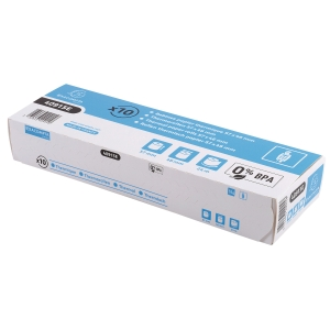 EXACOMPTA CREDIT CARD MACHINE RECEIPT ROLLS, 57 MM X 24 M, BOX OF 10