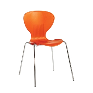 SIENNA ORANGE DINING CHAIR - PACK OF 4