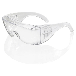 SAFETY OVER SPECTACLES CLEAR