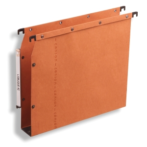 ELBA ULTIMATE ORANGE A4 LATERAL SUSPENSION FILES 30MM BASE - BOX OF 25