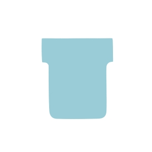 T-CARDS SIZE 2 BLUE 60 X 85MM 170GSM - PACK OF 100
