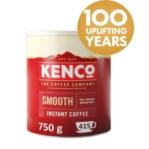 KENCO SMOOTH INSTANT COFFEE TIN 750G