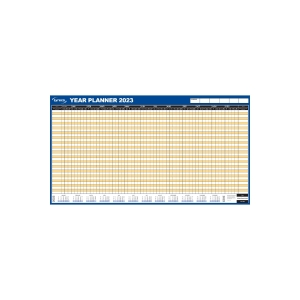 LYRECO UNMOUNTED HOLIDAY PLANNER - 750 X 410MM