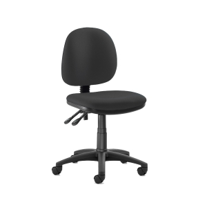ORIGIN MEDIUM BACK OPERATORS CHAIR WITHOUT ARMS - BLACK