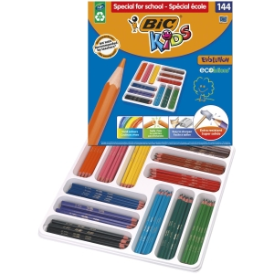 BIC KIDS COLOURING PENCILS CLASSROOM PACK - PACK OF 144