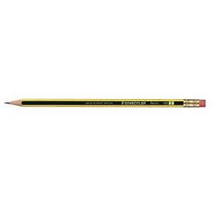 STAEDTLER NORIS PENCIL HB RUBBERTIP BOX OF 12