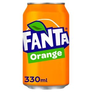 FANTA ORANGE CAN 330ML - PACK OF 24