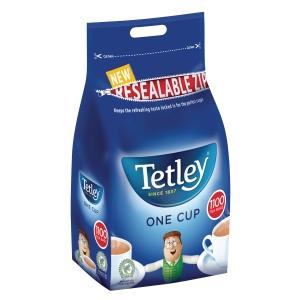 TETLEY TEA BAGS - PACK OF 1,100