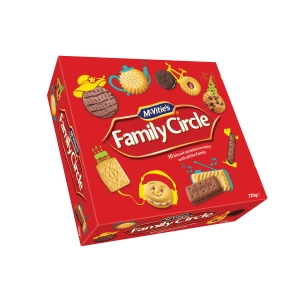 FAMILY CIRCLE BISCUIT BOX 670G