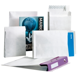 TYVEK ENVELOPES 250 X 343 X 20 MM - BOX OF 50