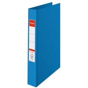 ESSELTE BLUE A5 2 O-RING BINDERS - BOX OF 10