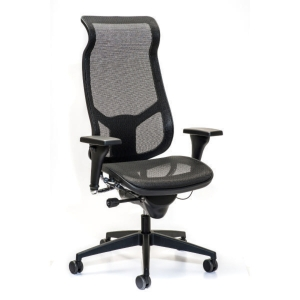 INTERSTUHL AIRSPACE 3642 MANAGEMENT CHAIR HIGH BACK MESH BLACK