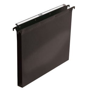 ELBA ULTIMATE BLACK F/SCAP HEAVY DUTY PP SUSPENSION FILES 30MM BASE - BOX OF 25